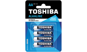 Bateria LR6 Toshiba Great Power Alkaline AA
