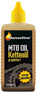 Olej do łańcucha Hanseline MTB Graphite 125 ml