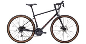 Rower gravel Marin Four Corners black red