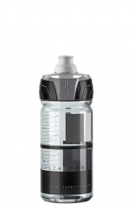 Bidon Elite Crystal Ombra 550ml smoke/szary