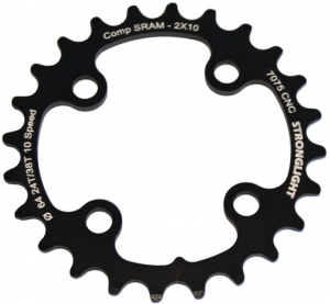 Zębatka Stronglight Sram X0 64 mm 24T