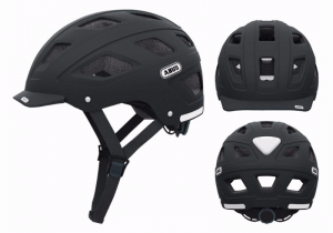 Kask rowerowy Abus Hyban BlackMat L 58-63 cm